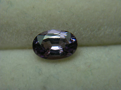 very rare Purple Lilac Spinel gem Tanzania natural untreated Gemstone oval