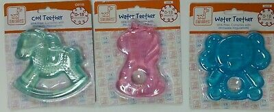 BABY TEETHING TEETHER RING Refrigerate to cool ROCKING HORSE Teddy 0-18 months
