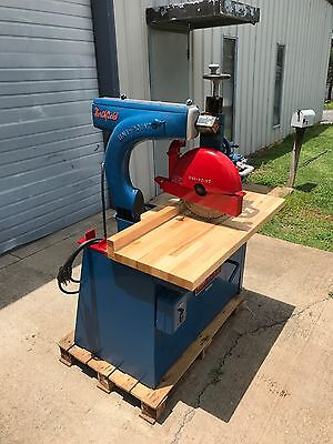 Northfield Unipoint / Uni-Point Industrial / Commercial Radial Arm Saw