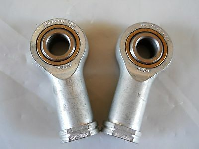 "(2) Alignabal VFL-8 Rod Ends, New Old Stock, USA Made, 1/2"" Bore"