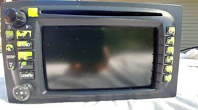 04 Buick Rendezvous Am/fm Radio W/ Cd Player Navigation 10348805