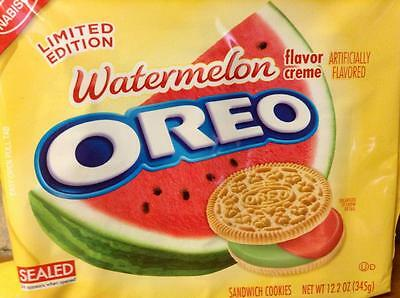 Old Photo.  Oreo Cookies -  Watermelon - Limited Edition