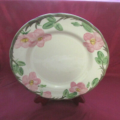 Dinner Plate 10.5 inch Franciscan Desert Rose  England Backstamp Vintage