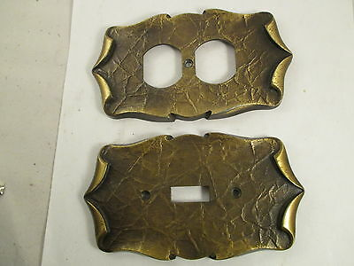 Vintage  Amerock Carriage House  Switch Plate And Plug Plates