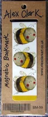 Bumble Bee Small Magnetic bookmark by Alex Clark Christmas Stocking Gift
