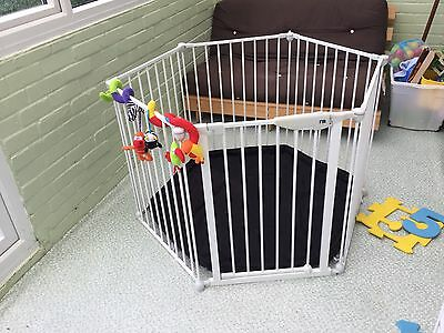 Mothercare Play Pen / Room Divider With Mat