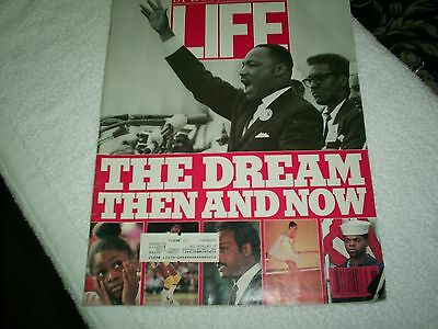 Vintage LIFE MAGAZINE Special Issue The Dream Then ans Now Spring 1988
