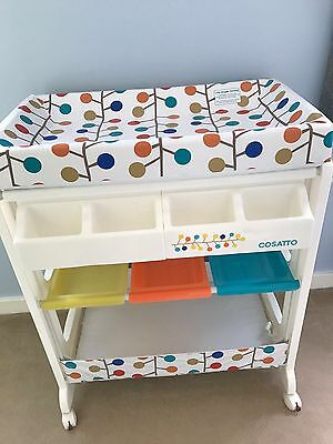 Cosatto Easi Peasi Baby Changing Unit With Bath And Storage