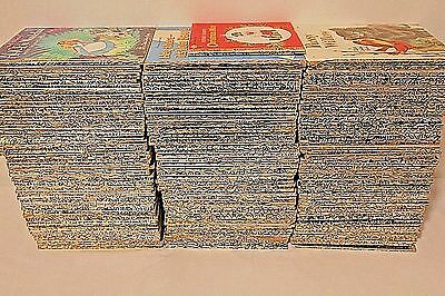 Lot of 212 Foil Edge LITTLE GOLDEN BOOKS (Most Vintage) NO DUPLICATES