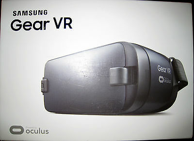 SAMSUNG SM-R323 GEAR VR HEADSET OCULUS BLUE BLACK SEALED BOX b001