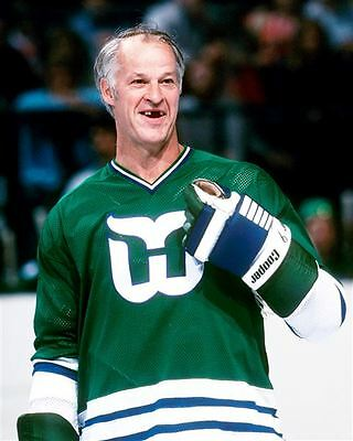 Gordie Howe Hartford Whalers 8x10 Photo