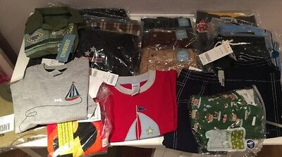 NWT Lot Boys Gymboree Old Navy Clothes Long Sleeve Shirts Pants 18-24 Months 2T