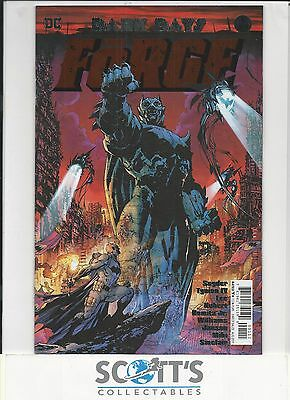 Dark Days The Forge #1 Jim Lee Foil Cover New  (Bagged And Boarded)