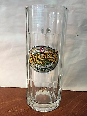 New Maisel's Pilsner 0.5L German Glass Beer Mug
