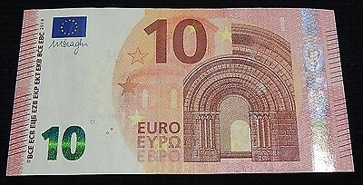 Greece Greek 10 Eyro Y Printer Y004 Very Rare Banknote