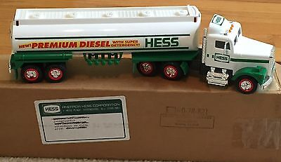 1993 HESS TOY TRUCK PREMIUM DIESEL TANKER / Free Shipping
