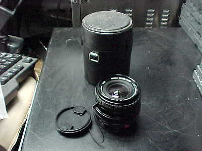 Sigma Super-Wide 1:2.8 F=24Mm Lens For Canon With Front & Rear Caps In Case