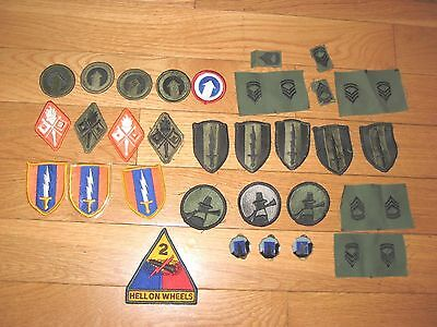 Lot of  Military Patches.Various ones  U.S. Uniform Patches