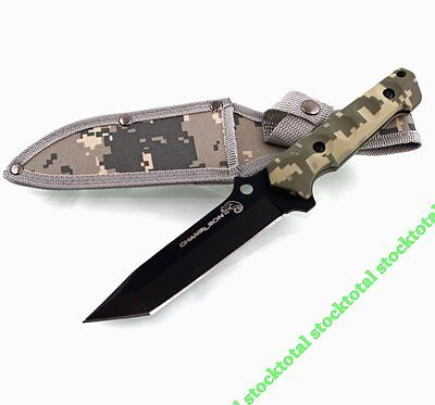Cuchillo Caza Tactical Con Funda
