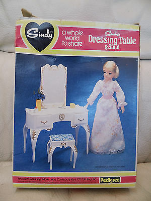 Vintage Sindy Dressing Table And Stool By Pedigree