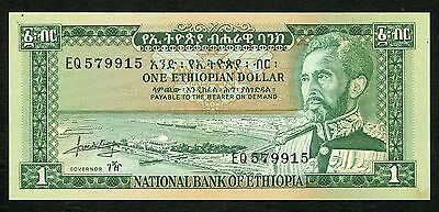 Ethiopia 1 Dollar 1966 P25a aUNC Condition !!!