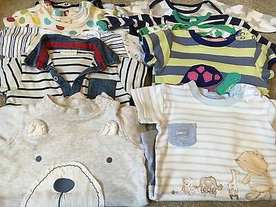 Bundle Of 10 X Summer Baby Boy Romper Suits 3 To 6 Months Next, Boots & George