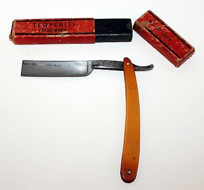 ANTIQUE GRIFFON XX 60 CARBO MAGNETIC STRAIGHT RAZOR Carbon Steel Germany
