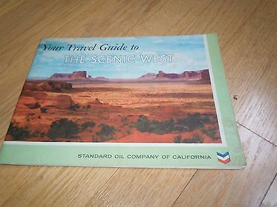1958 STANDARD OIL OF CALIFORNIA - YOUR TRAVEL GUIDE TO SCENIC WEST Book