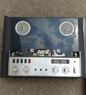 Revox reel to reel machine Type A77 in case for parts or repair