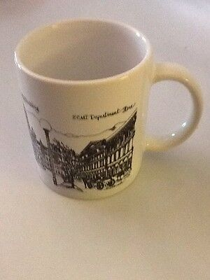 New 1990 Utah Coffee Cup ZCMI Department store Capitol Building