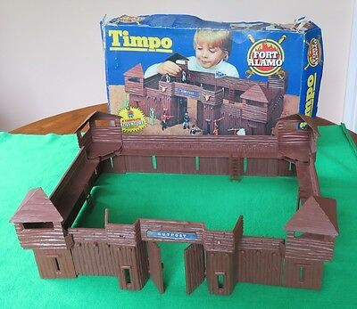 Timpo Toys Wild West Collection - Fort Alamo - 1960s/70s