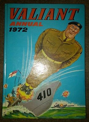 Valiant Annual 1972 Vgc Unclipped One Owner From New