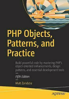 Php Objects, Patterns, and Practice by Matt Zandstra (English) Paperback Book Fr
