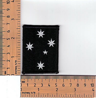 Southern Cross Stars  Bikers Embroidered  Cloth Patch / Badge