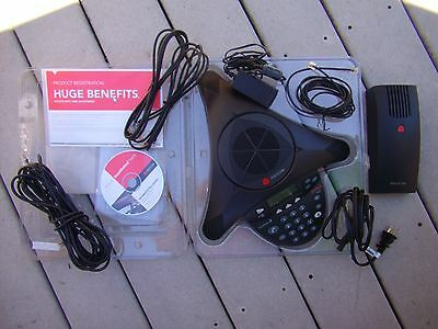 POLYCOM Soundstation 2  AVAYA Conferencing System with Original Box
