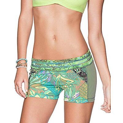 Maaji Women's Sage Green Oasis Short Cover Up Multicolor Large, New