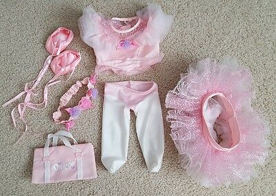 "Cabbage Patch Kids 2003 TRU Outfit - Ballerina For 19"" - 20"" Toys R Us CPK Dolls"