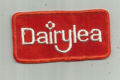 Vintage Dairylea Creamery Syracuse Ny Milk Ice Cream Cheese Patch Cows Dairy