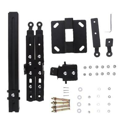 LCD DLP Projector Ceiling Mount Bracket for Flat/Sloped Ceiling / Wall Black