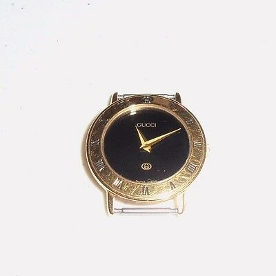 Gucci 3300 Swiss 6 Jewels Women's Watch - NEW Battery - Working V Good