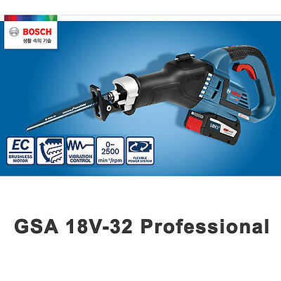 Bosch GSA 18V-32 Charge Cut Saw Tooth Cutting Blade Bare Tool Professional
