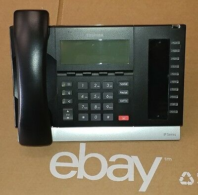 Toshiba IP5122-SD 10-Button LCD Display IP Speakerphone CIX100