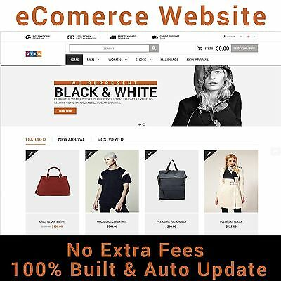 Website - eCommerce  - Home Online Business - Magento