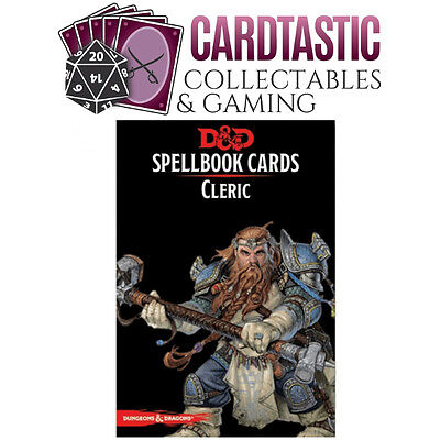 D&D Spellbook Cards Cleric Revised