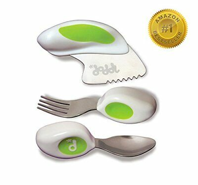 Doddl Cutlery Set - Knife, fork and spoon set. For babies or children 12+