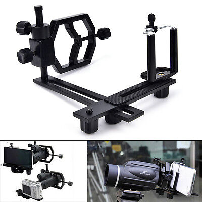 Tripod head holder support mount adapter camera phone attach spotting scope SA