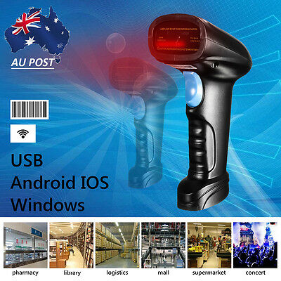 POS Wireless Bluetooth 4.0 Barcode Scanner Reader For Apple IOS Android Window