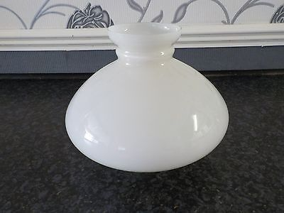 A  Oil Lamp Glass Shade Collectable Lighting Vintage Old  Shade