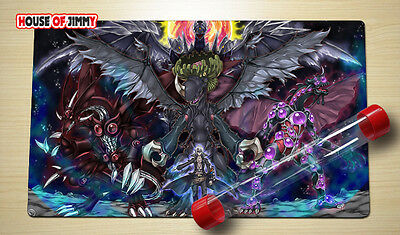Yugioh Playmat Custom Made Play Mat Large Mouse Pad FREE TUBE C073