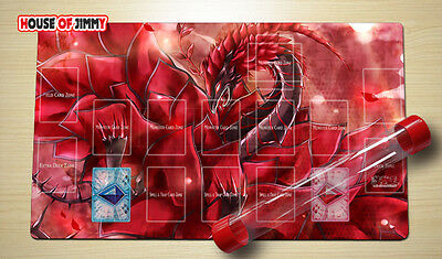 Yugioh Playmat Custom Made Play Mat Large Mouse Pad FREE TUBE C054
